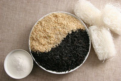 rice and flour