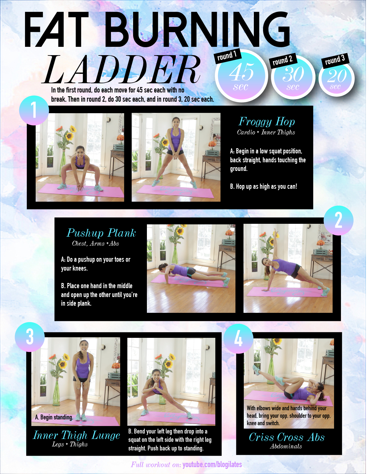 Fat-Burning-Ladder-Printable