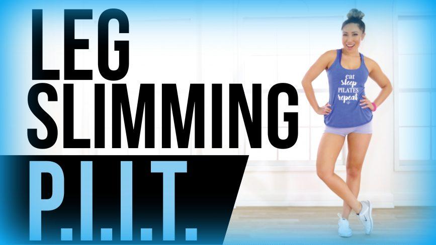 Leg Slimming Workout Piit Blogilates