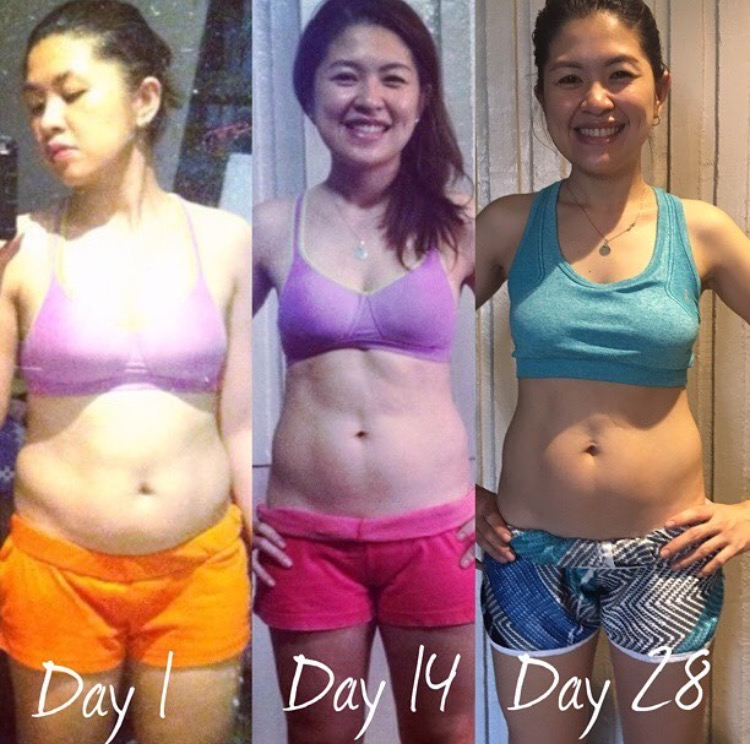 2e0f136922c Inspirational PIIT28 Before and Afters! – Blogilates