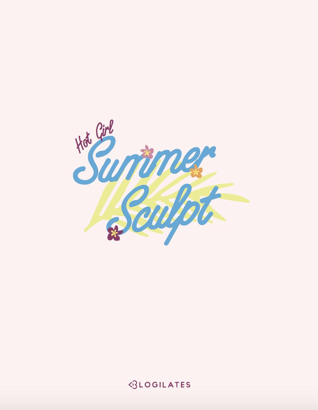 Blogilates Hot Girl Summer Sculpt Program Cover